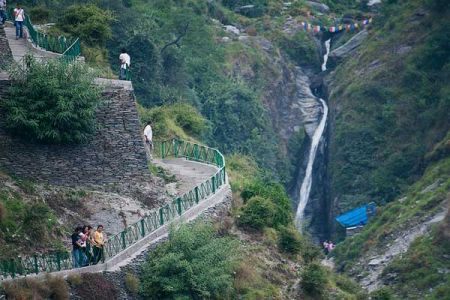 Bhagsu falls Mcleodganj