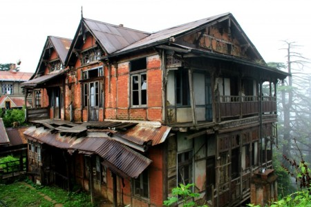 Charleville Mansion - the haunted spot in Shimla
