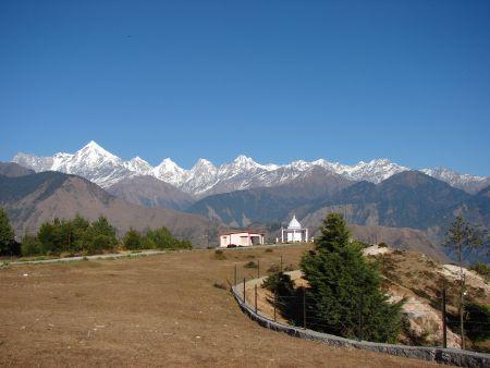 Panchachuli peaks Kausani