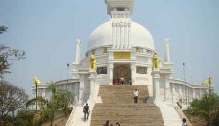 Tensa Hill Shanti Stupa