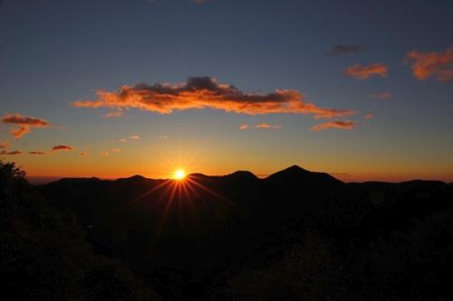 Sunset view at Jawahar
