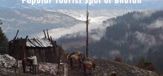 Popular tourist spot of Bhutan