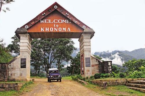Kohima Hill Station