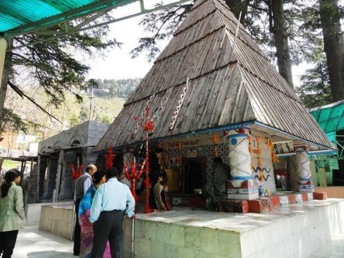 The Naag Temple in Patnitop