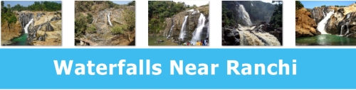 Waterfalls Near Ranchi, Jharkhand
