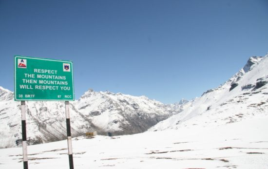 Rohtang Pass the coldest hill station in Manali