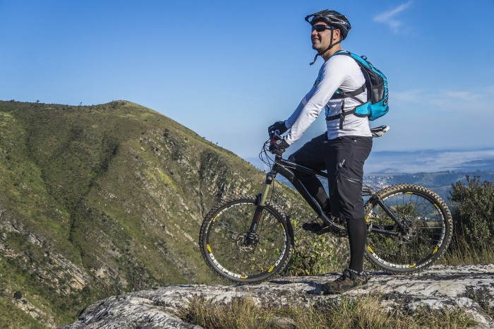 Biking on Mountains