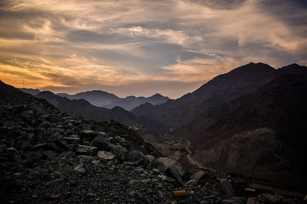 Al Hajar Mountain fujirah
